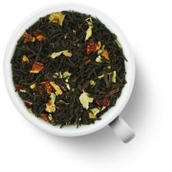 Чай чёрный Клубника со сливками