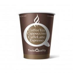 Бумажный стакан для кофе 250 мл цветной Taste Quality