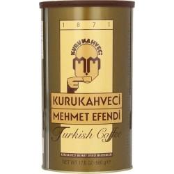 Кофе молотый Kurukahveci Mehmet Efendi жестяная банка 250г