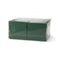 Салфетки Зеленые 24*24 однослойные упаковка 400шт