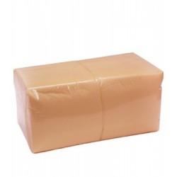 Салфетки Оранжевые 24*24 однослойные упаковка 400шт