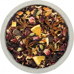 Чай черный фруктовый Альпийский Глинтвейн, 100гр