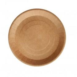 "Картонная тарелка ""крафт"" 18см (eco plate 180)"