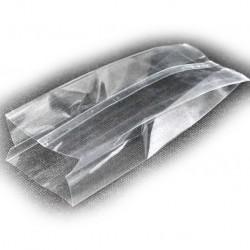 Пакет БОПП прозрачный с центральным швом 60+40х180
