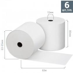 Чековая лента из термобумаги 80 мм