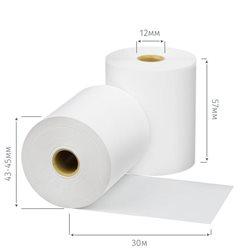 Чековая лента из термобумаги 57 мм, диаметр 43-45 мм