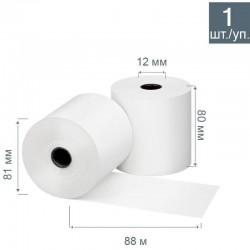 Чековая лента из термобумаги 80 мм, диаметр 81 мм
