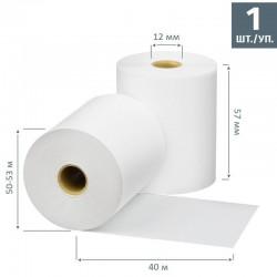 Чековая лента из термобумаги 57 мм, диаметр 50-53 мм