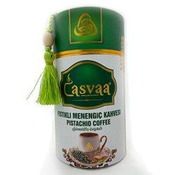 Турецкий кофе молотый Casvaa Menengic Kahvesi со вкусом фисташек 250гр
