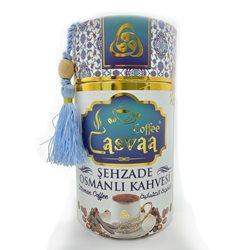 Турецкий кофе молотый Casvaa Sehzade Osmanli Kahvesi с ароматом плодов рожкового дерева, 250 г